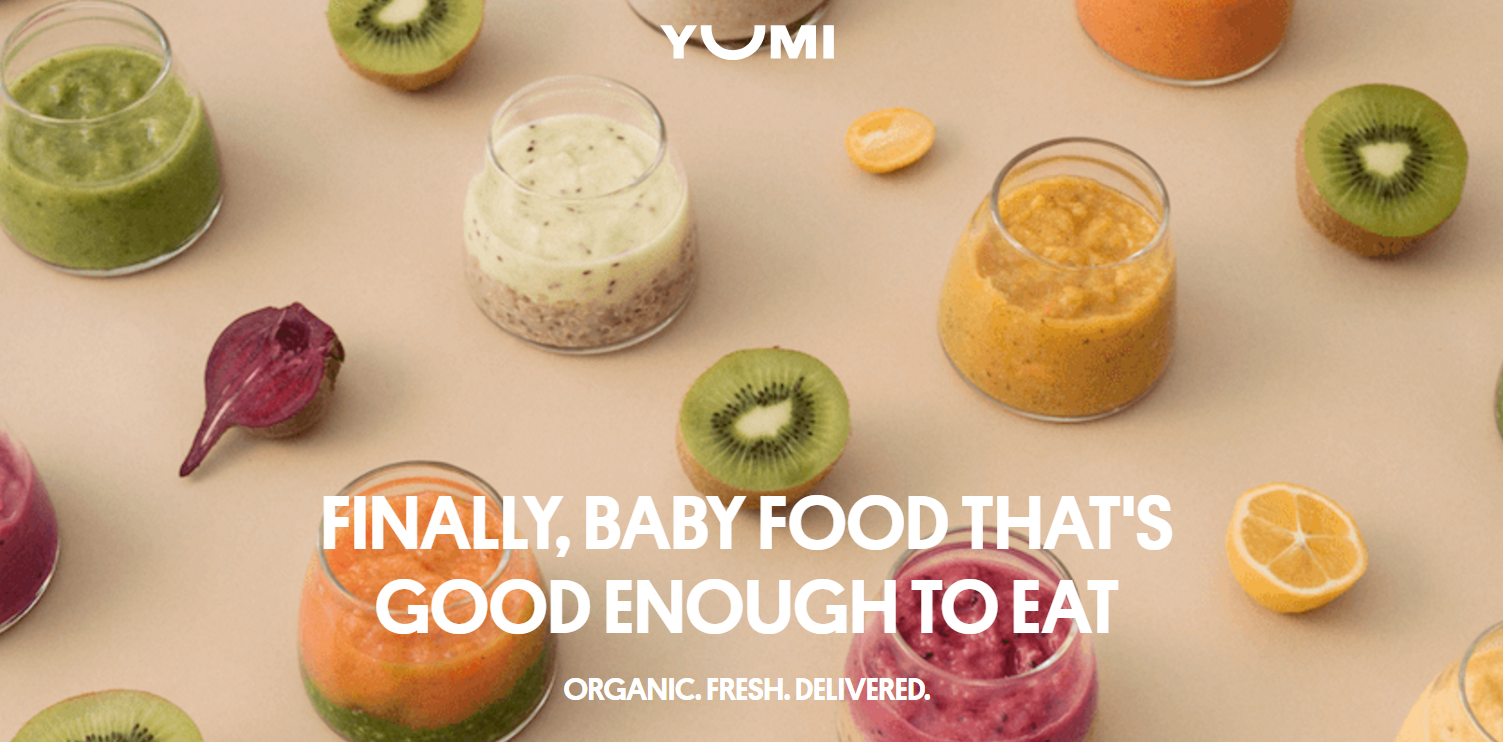 VC Backed Baby Food Company Yumi Launches