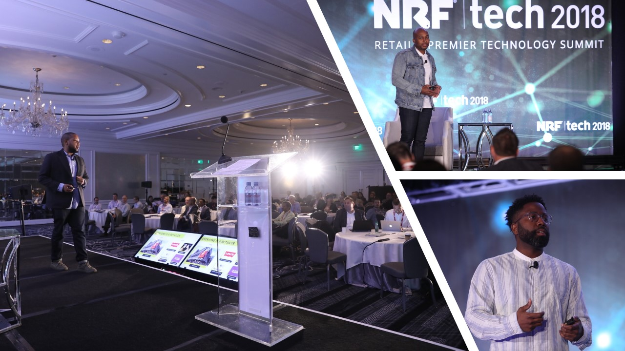 The future of mobilepayments& commerce-as-a-service at NRFTech 2018
