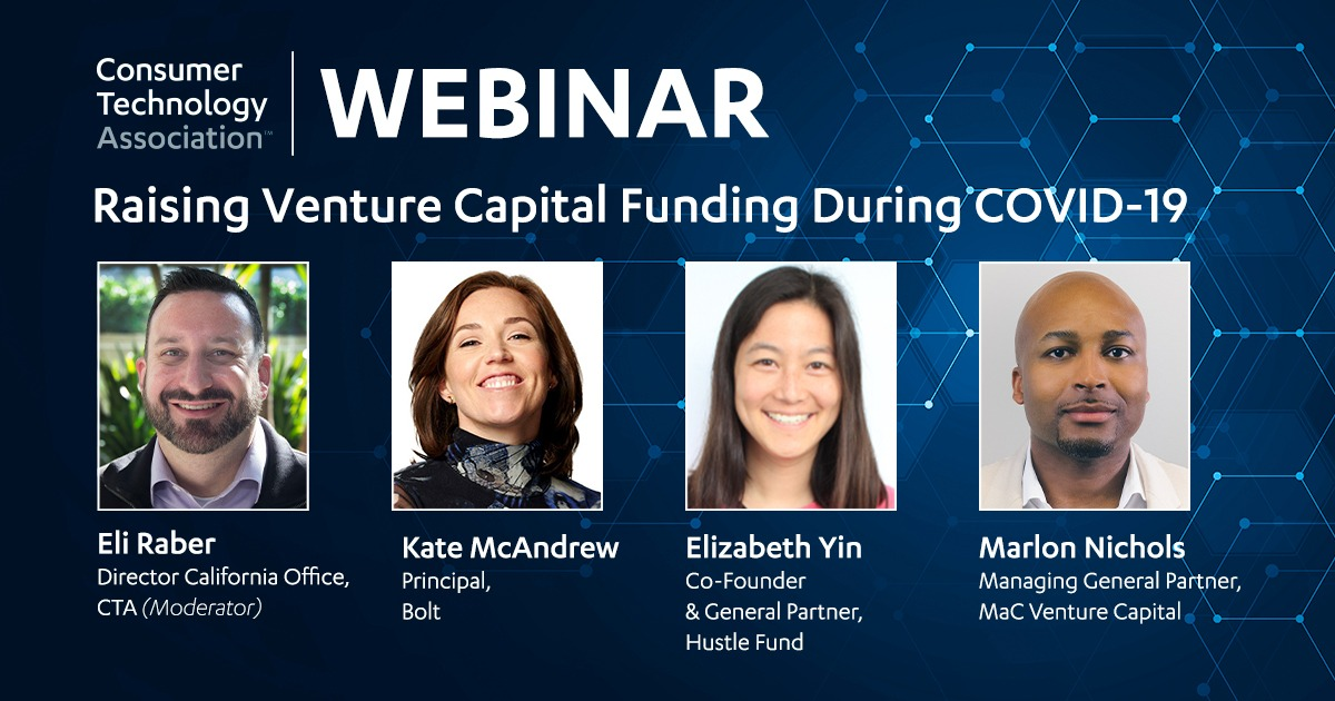 Registration Now Open | Raising Venture Capital Funding During COVID-19 Webinar