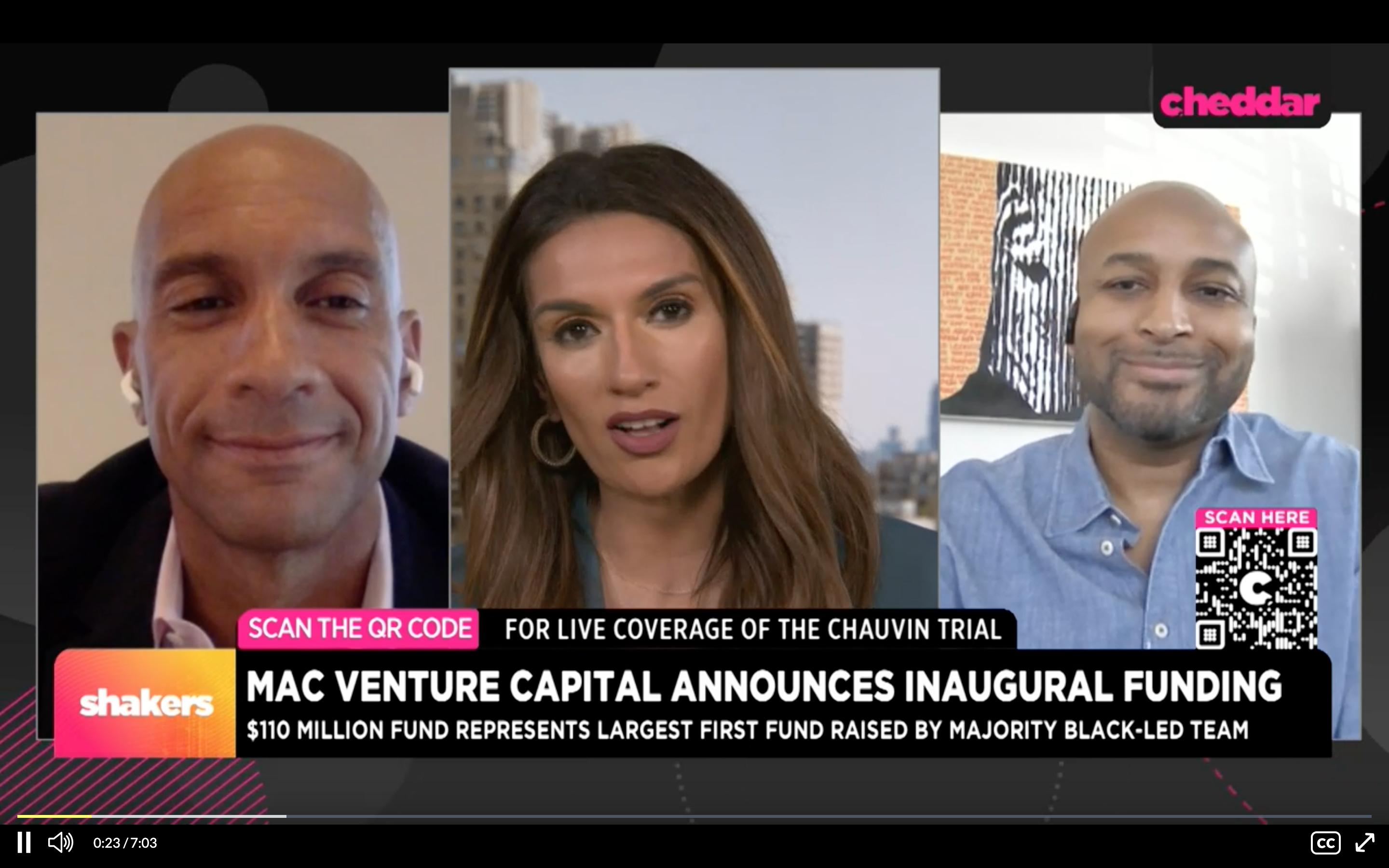 MaC Venture Capital Announces $110 Million in Inaugural Funding
