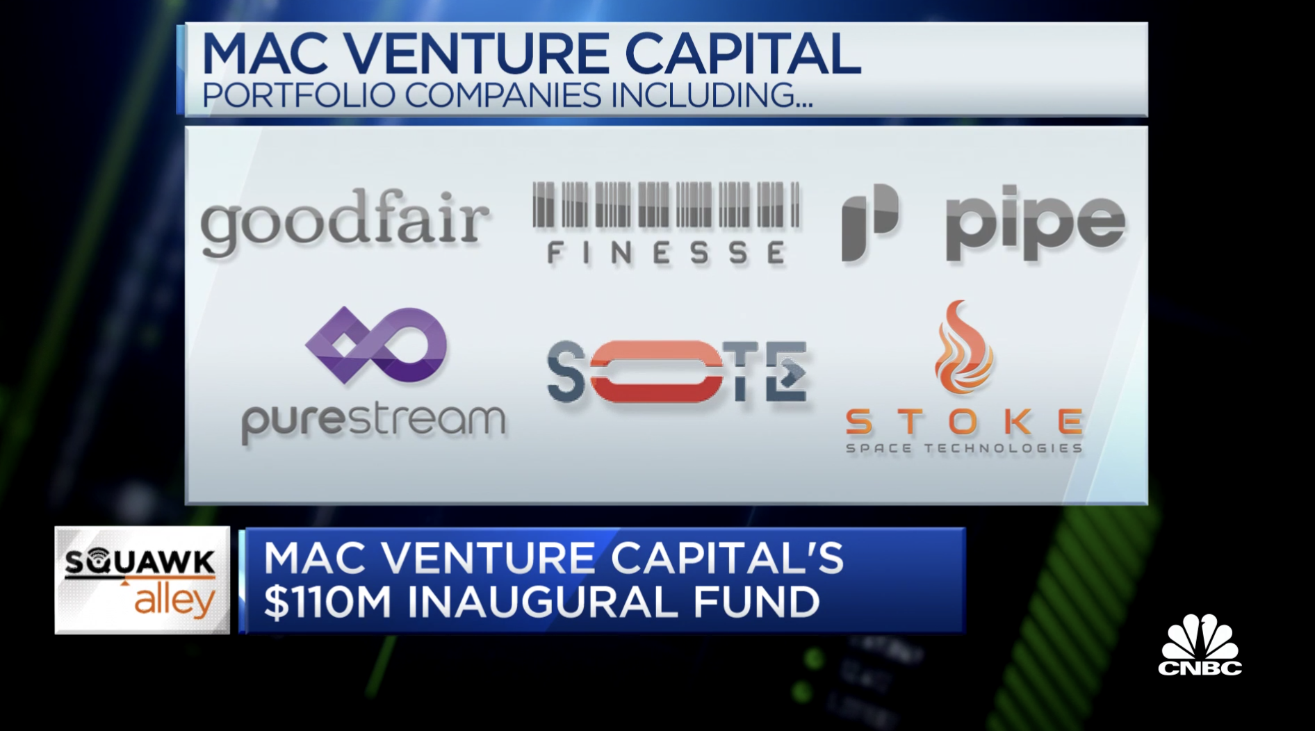 MaC Venture Capital's founders on their $110 million inaugural fund