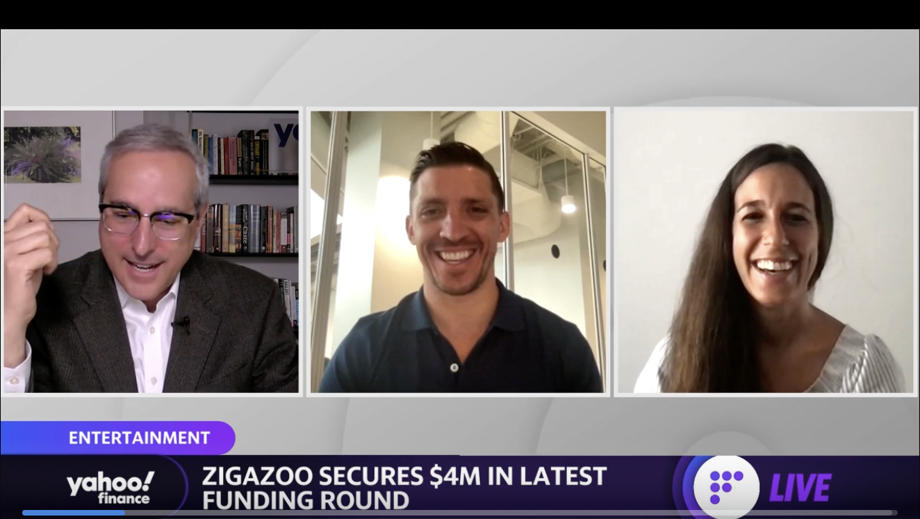 Zigazoo is, 'a controlled environment where kids are creating… as opposed to passively consuming content': Zigazoo Co-Founders